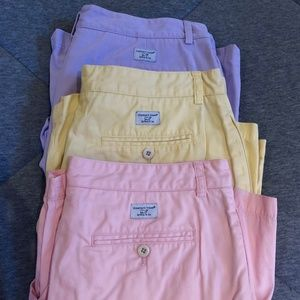 BUNDLE Size 34 VINEYARD VINES Club Shorts EUC